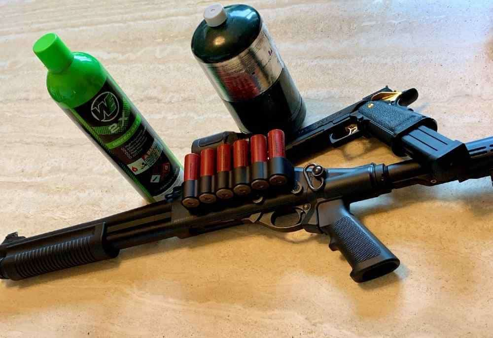 What is green gas for Airsoft guns?